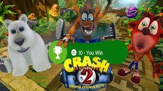 Crash Bandicoot 2 Todos los logros secretos   Crash N. Sane Trilogy   Xbox One