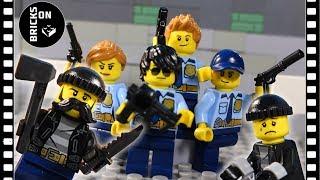 Лего Полицейская академия компиляция ограбление Потерпеть поражение Лего Городская полиция