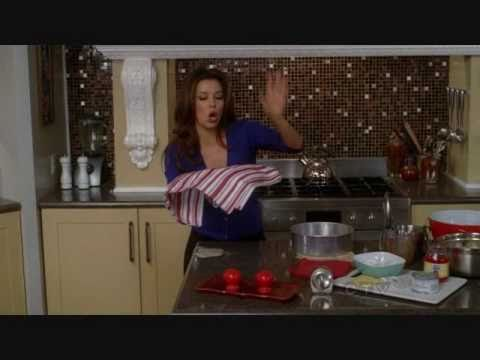 desperate housewives baking with gaby the pineapple upside down cake youtube. Black Bedroom Furniture Sets. Home Design Ideas