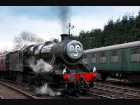 Steam train sound effect - YouTube