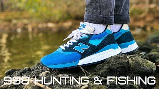 nEW BALANCE 998 HUNTING & FISHING. MADE IN USA. M998NE. ОБЗОР ОТ НЕПРОПЕЧЁННОГО