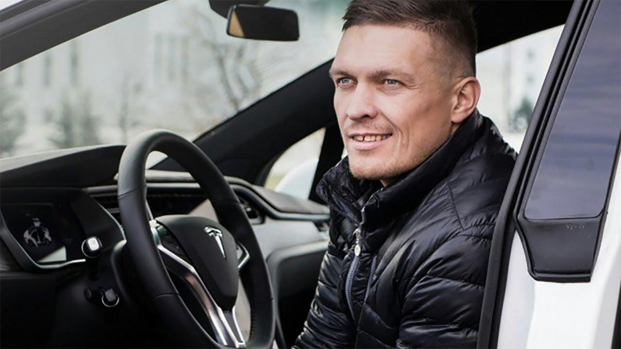 Автопарк Александра Усика: на чем ездит чемпион мира по боксу?