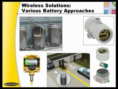 Banner Engineering: Industrial Wireless I/O Systems for Harsh Environments