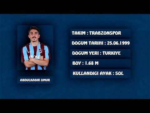 Abdülkadir ömür golleri | Trabzonspor genç yıldızı | Turkish Messi