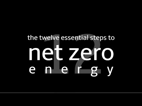 The Twelve Essential Steps to Net Zero Energy with Ted Clifton (Clifton View Homes)