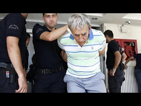 Purges of Turkey's military and judiciary continue
