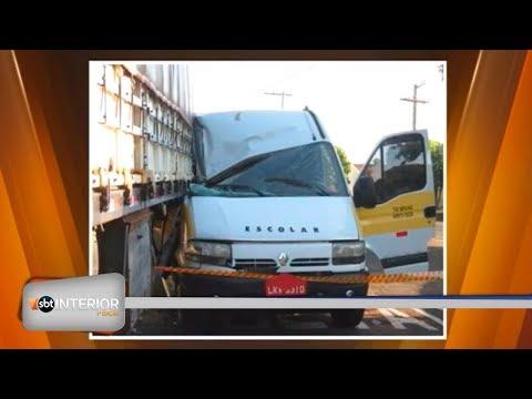 Acidente com van escolar mata jovem de 15 anos na região
