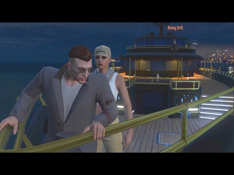 GTA 5 YACHT Life w/Crew!! - Exploring Both Yacht's+ New Limo Turret!