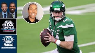 The odd couple - rob parker and t. j. houshmandzadeh (in for chris broussard) react to new york jets defeating la rams in a confusing game where most...