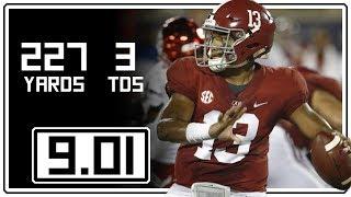 Tua Tagovailoa Full Highlights Alabama vs Louisville || 9.01.18 || 227 Yards, 3 Total TDs