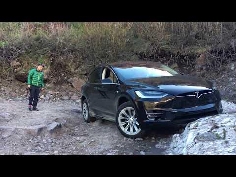 A Western Road Trip in the Tesla Model X