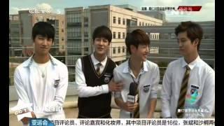 140919 CCTV5仁川亚运会特别报道 GOT7的采访