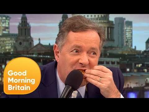 Piers Morgan's Hilarious Reaction to 'Lady Friendly' Doritos! | Good Morning Britain