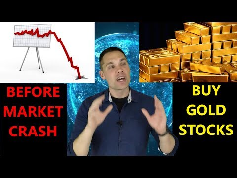 3 Gold Stocks To Buy BEFORE A Stock Market Crash!