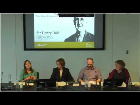 eLife fellowships webinar series: Sir Henry Dale Fellowships by the Wellcome Trust