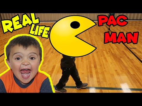 Real Life PAC MAN GAME!