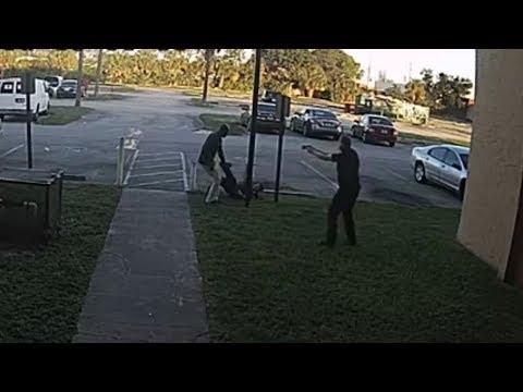 Surveillance video shows BSO deputy involved shooting