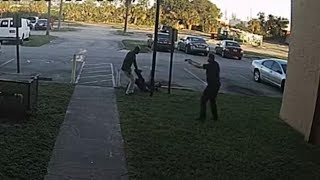 Surveillance video shows BSO deputy involved shooting