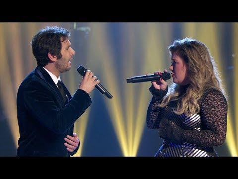 Josh Groban & Kelly Clarkson  All I Ask Of You A Home For The Holidays