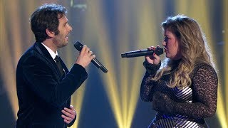 Josh Groban & Kelly Clarkson - All I Ask Of You (A Home For The Holidays)