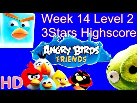 Angry Birds Friends - Week 14 Tournament Level 2 August 20 3Star Walkthrough Week 14 Level 2 from YouTube · Duration:  1 minutes 7 seconds
