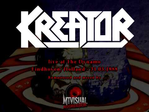 KREATOR - Live - The Dynamo, Eindhoven, Holland 1988