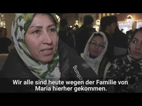 Afghanen trauern in Freiburg um Maria L.
