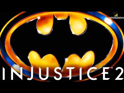 "THE RARE 1989 BATMAN EPIC GEAR!! - Injustice 2 ""Batman"" Gameplay (Epic Gear)"