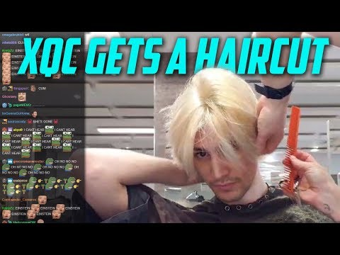 xQc GETS A NEW HAIRCUT! , YouTube