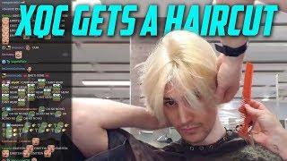 xQc GETS A NEW HAIRCUT!