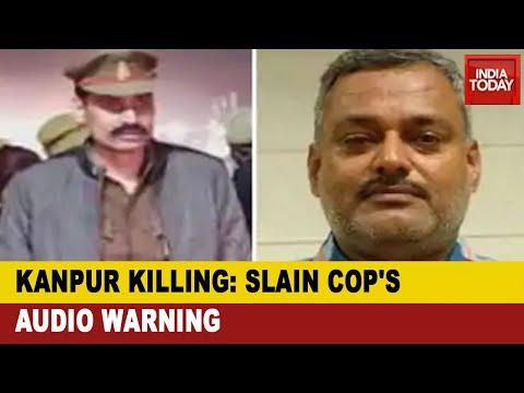 Kanpur Encounter: Audio Message Of Slain Cop Revealed Vikas Dubey Nexus With SO Vinay Tiwari