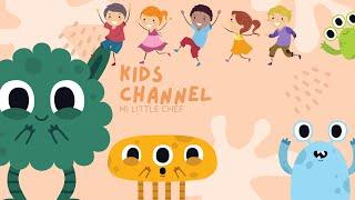 Música Instrumental Alegre para niños pequeños- preescolar y jardin- Música divertida