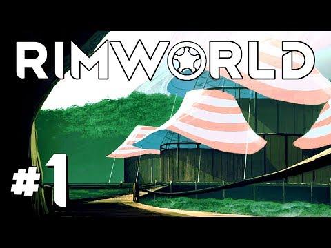 CRASHING in the WHITEBUG SWAMP! - Ep. 1 - RimWorld Beta 18 Gameplay