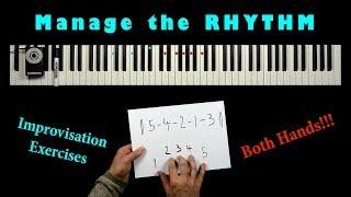 RHYTHMIC JAZZ EXERCISES - Coordinate Left & Right Hand