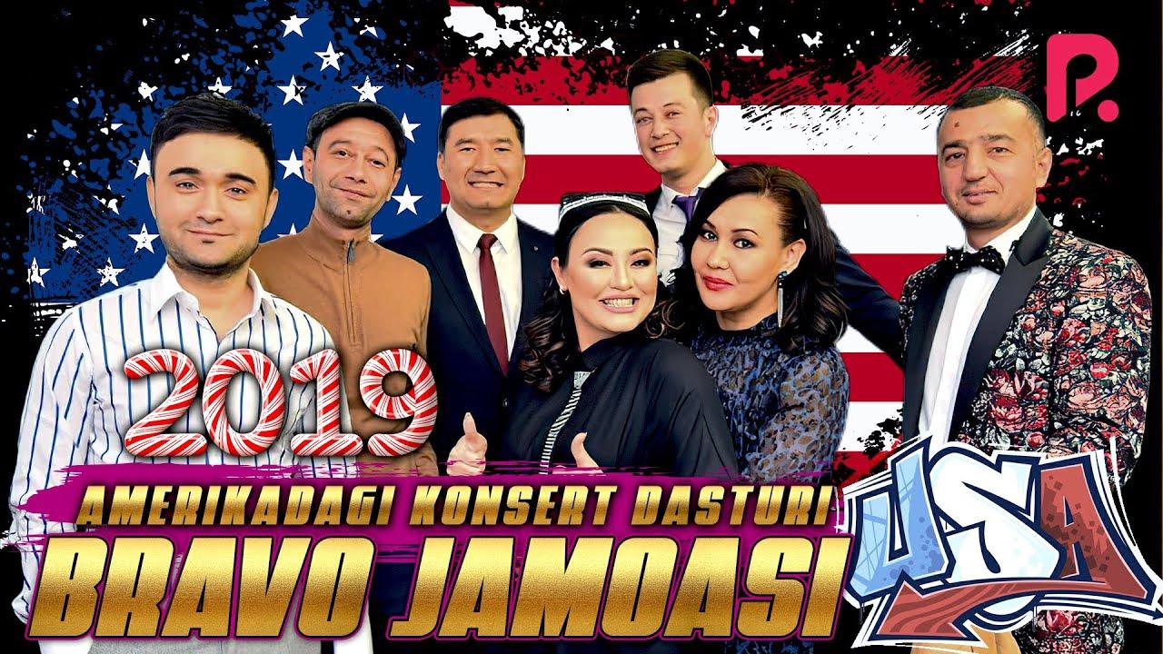 BRAVO JAMOASI - AMERIKADAGI KONSERT DASTURI 2019