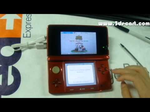 SKY3DS+ flashcart Support all 3ds Roms including AP Check Games on