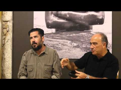 Eglantina Monteiro conversa com Alfredo Cunha e Luís Pedro Nunes