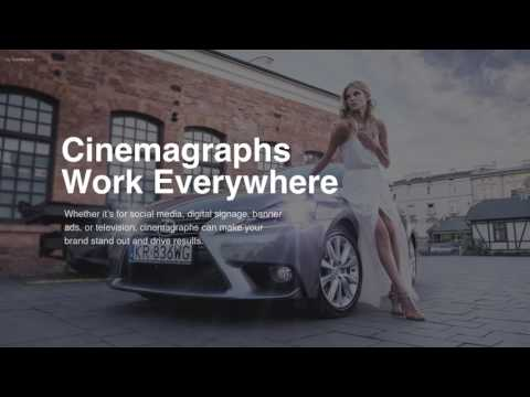 Cinemagraphs in PowerPoint and Keynote