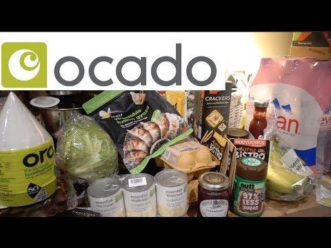 Food haul, czyli zakupy spożywcze z Ocado