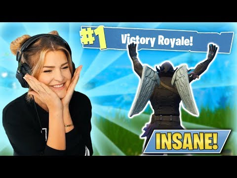 INSANE 12 KILL WIN WITH A CRAZY START! (Fortnite: Battle Royale) | KittyPlays