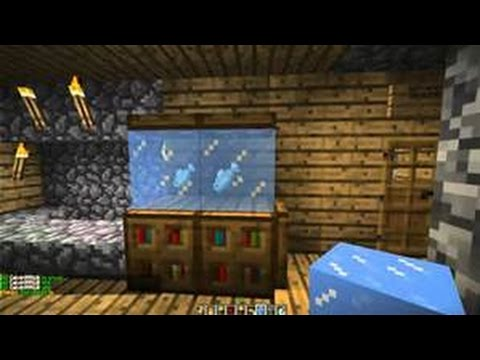 Minecraft: How to make a working aquarium | Doovi
