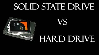 Solid State Drive vs Hard Disk Drive Speed Test.  SSD vs HDD.