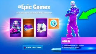 Leaked how to get the new Skin Galaxy Rewards Pack at Fortnite Season 8..!