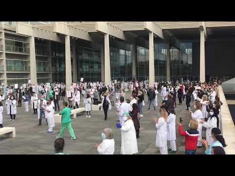 Los sanitarios se movilizan en Burgos contra el decreto de prestaciones obligatorias