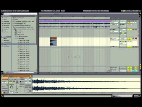 Le basi di Ableton Live 9  [Lezione3 ] : Audio Rack-Warp-Reverse-Sample-Basi per fare un remix-