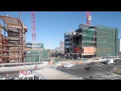 National Music Centre Studio Bell Construction Time-Lapse