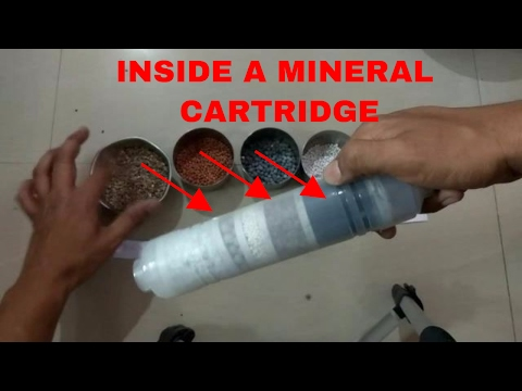 MINERAL CARTRIDGE  WHAT IS INSIDE