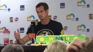 Andy Murray On what 500th Win Means to Him