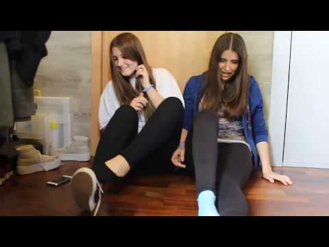 SOCKS AND SHOES CHALLENGE (OLD VIDEO) | HAPPY UNICORN