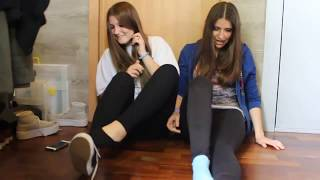 SOCKS AND SHOES CHALLENGE (OLD VIDEO)   HAPPY UNICORN